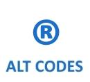 Alt-Code für R-Zeichen oder R im Kreis